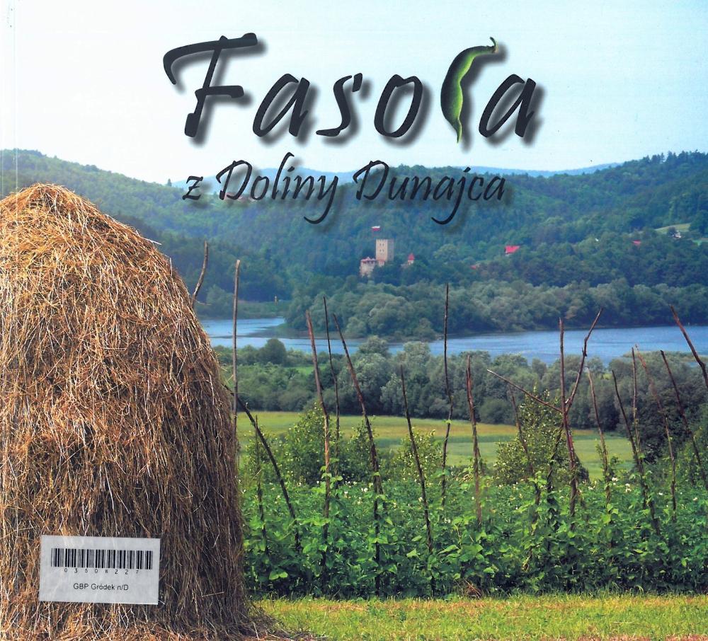 Okladka książki Fasola z Doliny Dunajca.